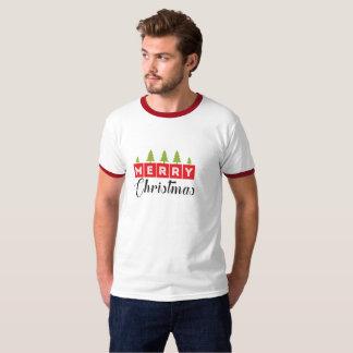 Le T-shirt des hommes de vacances de Noël