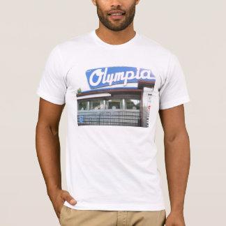Le T-shirt des hommes de wagon-restaurant