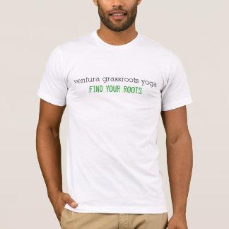 Le T-shirt des hommes de yoga de bases de Ventura