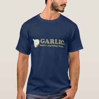 Le T-shirt des hommes drôles d'ail