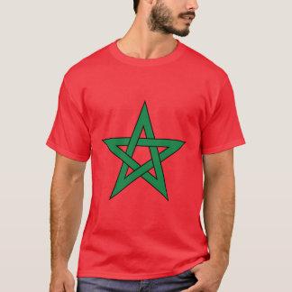 Le T-shirt des hommes du Maroc