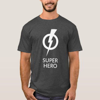 """Le T-shirt des hommes foncés de héros """"superbe"""""""