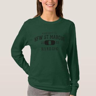 Le T-shirt des nouvelles de St Marcus longues