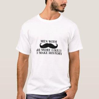 Le T-shirt drôle de citation de moustache fait