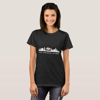 Le T-shirt foncé des femmes d'ANNIVERSAIRE de