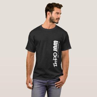 Le T-shirt foncé des hommes de confiture de Zimbo
