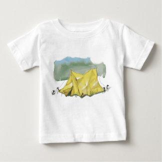 Le T-shirt lunatique de l'enfant d'illustration de