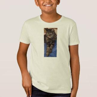 Le T-shirt organique de l'enfant majestueux de