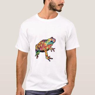 Le T-shirt orienté psychédélique d'hommes de