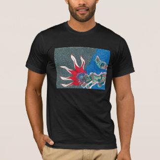 """Le T-shirt """"reptile"""" des hommes d'impression"""