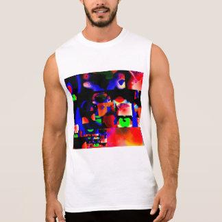 Le T-shirt sans manche des hommes bien choisis