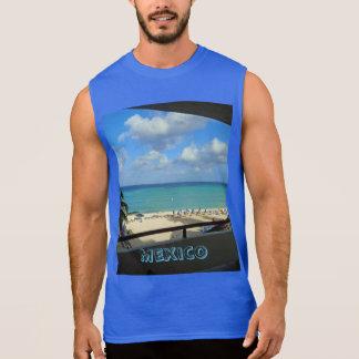 Le T-shirt ultra sans manche des hommes du Mexique