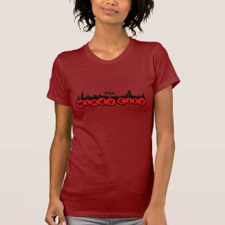 Le T-shirt venteux de ville
