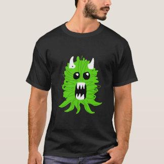 Le T-shirt vert d'hommes de monstre