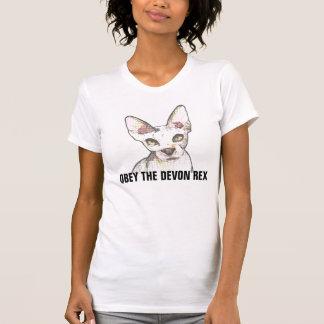 Le T-shirts de REX de DEVON, OBÉIT