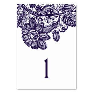 """Le Tableau bleu de dentelle numéro 3,5"""" x5 """""""