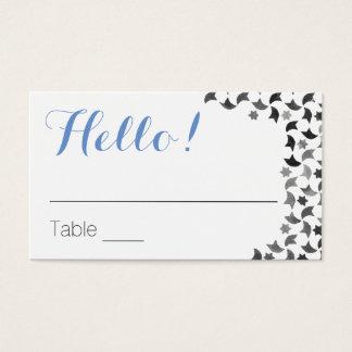 Le Tableau de salutation carde des cartes