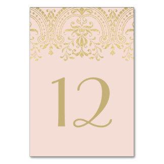 Le Tableau le numéro   de mariage rougissent