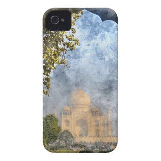 Le Taj Mahal à Âgrâ Inde Coque iPhone 4