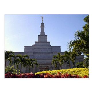 Le temple de Caracas Venezuela LDS Cartes Postales