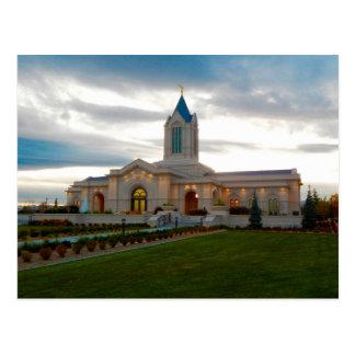 Le temple de Fort Collins le Colorado LDS Carte Postale
