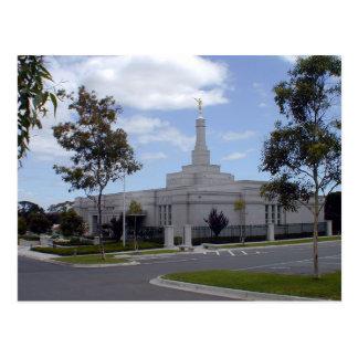 Le temple de Melbourne Australie LDS Carte Postale