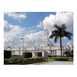 Le temple de Mérida Mexique LDS Carte Postale