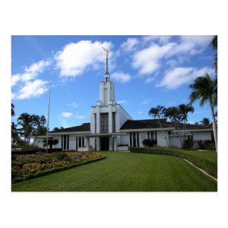 Le temple de Nuku'alofa Tonga LDS Carte Postale