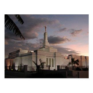 Le temple de San José Costa Rica LDS Cartes Postales