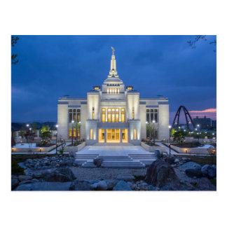 Le temple de Sapporo Japon LDS Cartes Postales