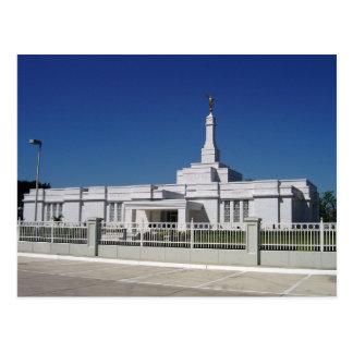Le temple d'Oaxaca Mexique LDS Cartes Postales