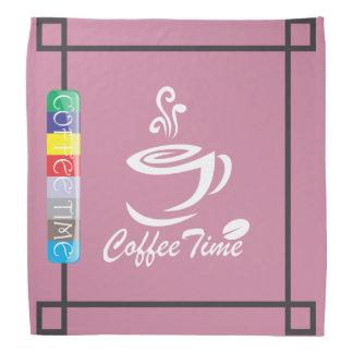 Le temps de café foulards