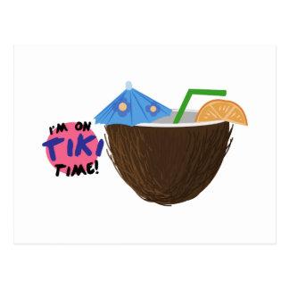 Le temps de Tiki Carte Postale