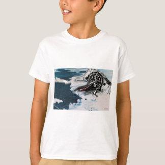 Le temps est T-shirt de extinction d'enfant
