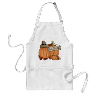 Le thanksgiving donnent le tablier de mercis