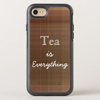 Le thé est tout plaid coque otterbox symmetry pour iPhone 7