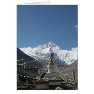 Le Thibet Everest/photo du Thibet Carte