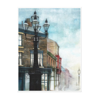 Le Thornaby 5 lampes, brumeuses - TOILE
