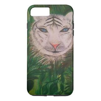 Le tigre blanc je téléphone l'affaire 6/6 coque iPhone 7 plus