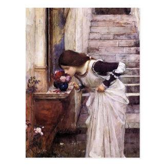 Le tombeau par John William Waterhouse Carte Postale