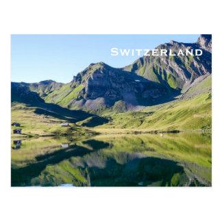 Le tourisme vintage de voyage de la Suisse Carte Postale