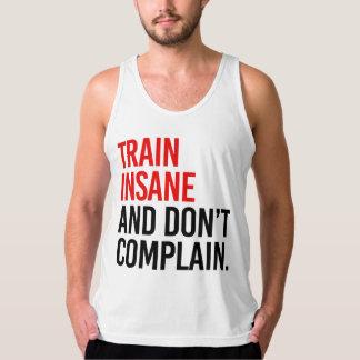 Le train aliéné et ne se plaignent pas débardeur
