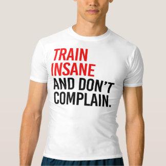 Le train aliéné et ne se plaignent pas t-shirt
