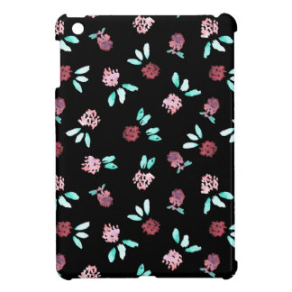 Le trèfle fleurit la mini caisse d'iPad brillant Coques iPad Mini