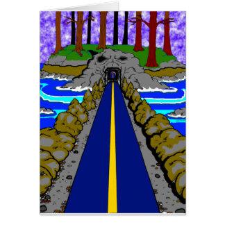 le tunnel carte de vœux