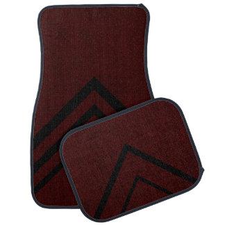 Le velours marron de couleur rouge personnalisent tapis de sol