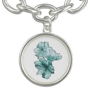 Le vert bleu d'Aqua a illustré la personnaliser de Bracelet
