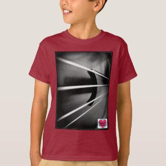 Le violoncelle musical de vies ficelle le T-shirt