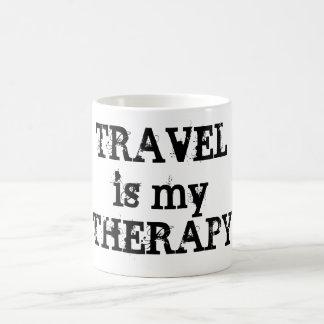 Le voyage est ma tasse de thérapie