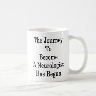 Le voyage pour aller bien à un neurologue a mug